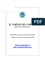 Camino Del Camino de ARNALDO de VILANOVA Trad by Ismael Berroeta