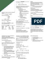 Fluid Mechanics Review
