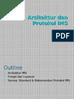 Arsitektur Dan Protokol IMS (kelas JARKOMLAN Informatika IT Telkom)