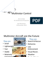Multirotor Control--A Brief Glance at Quadcopter Flight Controllers in pictures