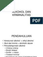 Alkohol Dan Kriminalitas