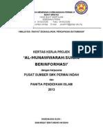 Kertas Kerja Projek Surau Berinfomasi 2013