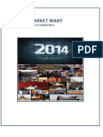 Get daily information about nifty, sensex in Narnolia Securities Limited Market Diary 1.1.2014
