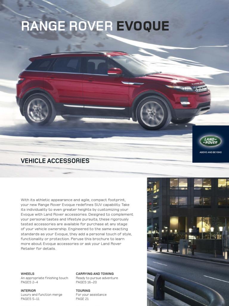 Land Rover Range Rover Accessory Genuine Umbrella Storage Holder VPLVS0186