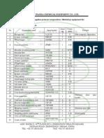 100t D-Negative Pressure Oil Rotocel Extraction Parameter