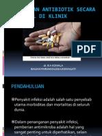 Pemberian Antibiotik Secara Rasional Di Klinik