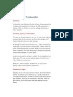 AllRefer Health - Perichondritis