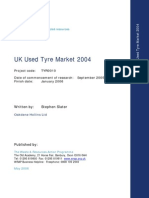 UK Used Tyre Market Report 2004 Report