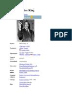 Martin Luther King Biografia e Ideas