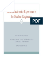 Basic Experiments for Nuclear Engineer-V2_B(Part 1)