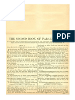 The Second Book of Paralipomenon (The Second Book of Chronicles) with Haydock Commentary