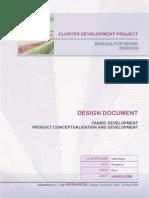 Cluster Development Project