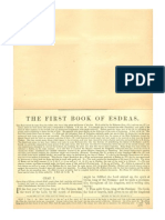 The First Book or Esdras (The Book of Ezra) with Haydock Commentary
