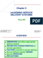 Designing Service Delivery Systems