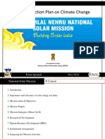 India's National Solar Mission (JNNSM) - National Action Plan on Climate Change (NAPCC)
