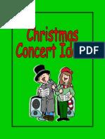 Christmas Concert Ideas