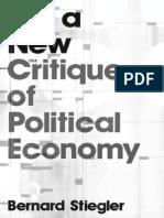 For a New Critique of Political - Bernard Stiegler.pdf
