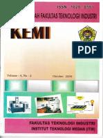 Kemi Vol 4, No 2 Oktober 2009, Halaman 31 - 40