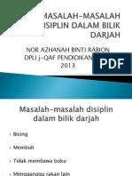 Slide Pedagogi Masalah-masalah Disiplin Dalam Bilik Darjah