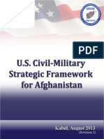 US Civil-Military Strategic Framework for Afghanistan