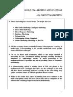 34 Chap - Module 5 - Direct Marketing
