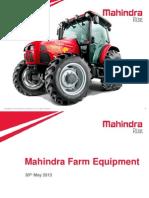 Farm Equipment Sector Analyst Meet Presentation