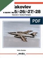Aerofax Yakovlev Yak 25-26-27 28