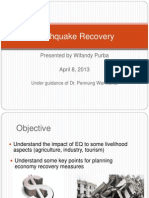 Earthquake Recovery - Wifandy Purba