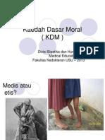 DM1 - BHP1 - K2 - Kaedah Dasar Moral