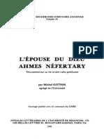 Gitton L Epouse Du Dieu Ahmes Nefertary