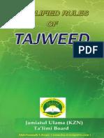 Simplified Rules of Tajweed [English]