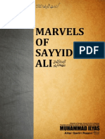 Marvels of Sayyiduna Ali [English] (Dawat-E-Islami)