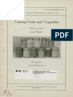 Canning fruits and vegetables (1936)