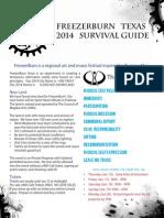 FreezerBurn 2014 Survival Guide