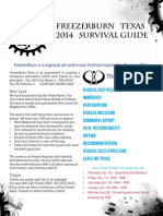 FreezerBurn 2014 Survival Guide