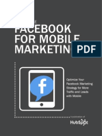 How Facebook Grew its Mobile Revenue by 40% in 2 Years