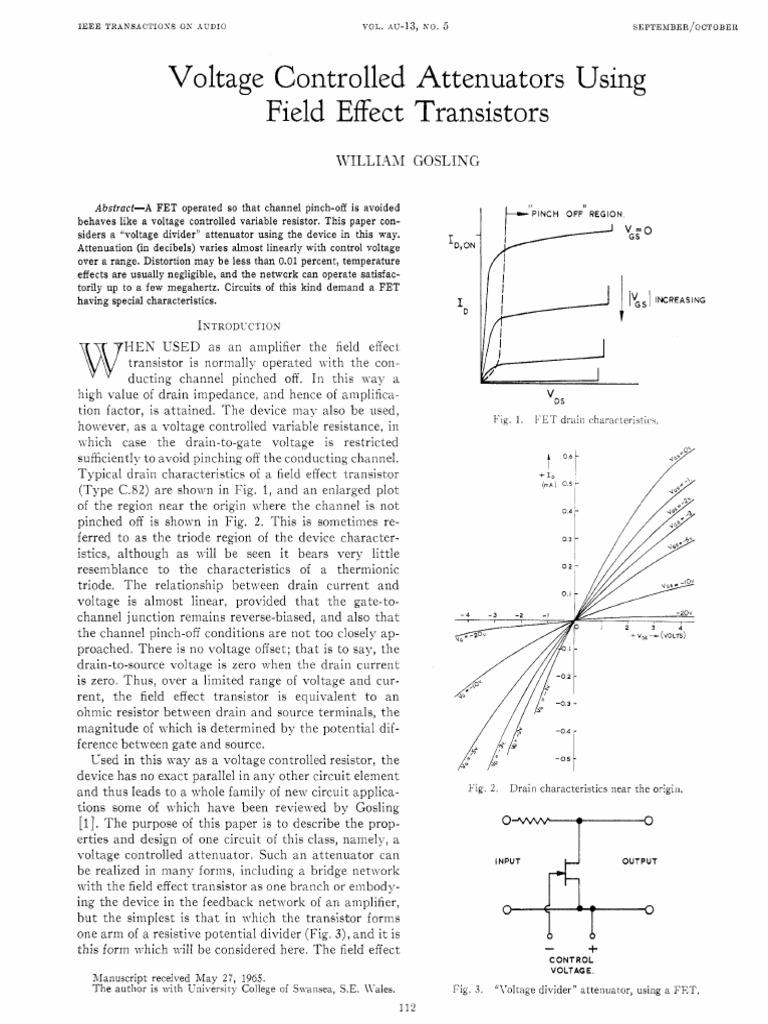 Atten Field Effect Transistor