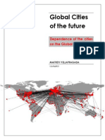 Global Cities - Dependence of cities on the global network