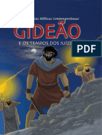 Livro eBook Gideao e Os Tempos Dos Juizes