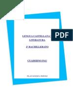 CUADERNO PAU 2º BACHILLERATO