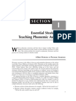 Teaching Phonemic Awareness