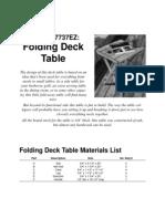 EZFoldingDeckTable