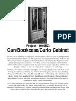 EZGun Bookcase Curio Cabinet