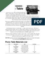 EZPicnic Table