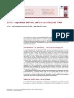 2010 - Septième Edition De La Classification TNM