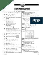 Solution Class 4 Set 8
