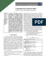 Teaching Algorithm Development Skills