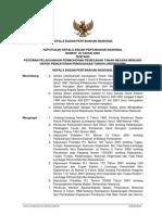 Keputusan Kepala Badan Pertanahan Nasional Nomor 25 Tahun 2002 Tentang Pedoman Pelaksanaan Permohonan Penegasan Tanah Negara Menjadi Obyek Pengaturan Punguasaan Tanah/Landreform