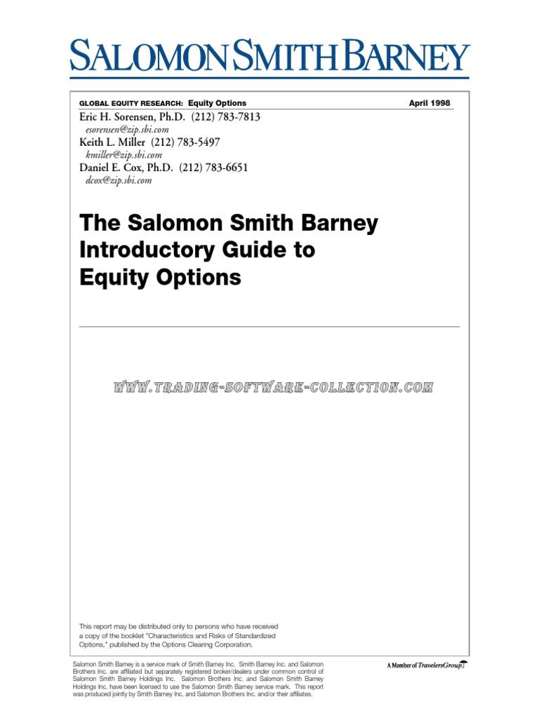 210db7b9838e Eric Sorensen - The Salomon Smith Ba