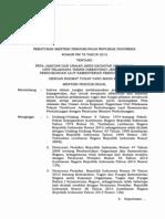 Pm. No. 78 Tahun 2013 Peta Jabatan Ditjenhubla